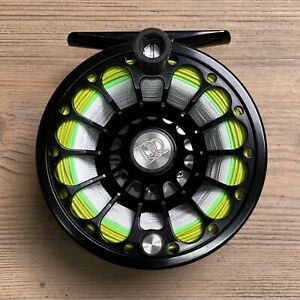 New Ross Reels San Miguel 4/5 Fly Fishing Reel w/ SA Mastery Trout WF4F Fly Line