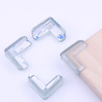 10pcs Clear Table Desk Corner Protector Edge Guard Cushion Baby Safety Bumper