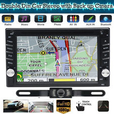 "NEW 6.2"" Car STEREO DVD CD BLUETOOTH WITH FREE BACK UP CAMERA GPS NAVIGATION MAP"