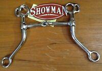 "5"" Western Long Shank Tom Thumb Broken Snaffle Training Bit Horse Tack"