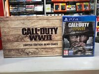 CALL OF DUTY WWII LIMITED EDITION GEAR CRATE + GIOCO FISICO PS4