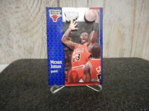 MICHAEL JORDAN 3D WRAPPER REDEMPTION 1992 FLEER CARD WITH STAND RARE