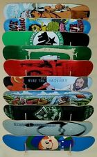 SKATEBOARD DISPLAY RACK by Blue Mass! Fits 10 Decks: Powell Peralta Zorlac nos
