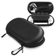 Черный жесткий путешествий сумка искусственный чехол сумка для переноски для Sony PS Vita PSV
