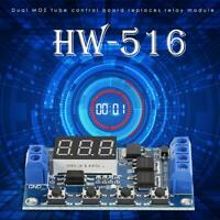 HW-516 DC 12V 24V LED Time Delay Relay Trigger Cycle Timer Switch Module Timing