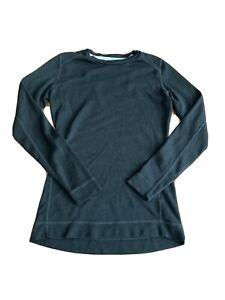 SMARTWOOL Women's Merino Wool Long-Sleeve Base Layer Size Small