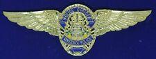 Riverside Police California Badge Air Unit Aviation Airline Pilot Wing WP+