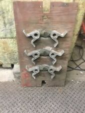 Antique Industrial Foundry Wood Sand Cast Pattern Mold For Boat Railings