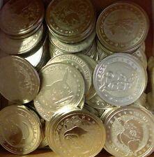 1 Pokemon Meiji Juice Battle Coin Metal Medal Japan Rare Item Random Selection