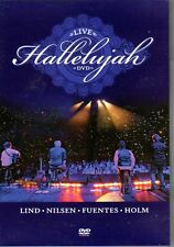 DVD Hallelujah Live, Kurt Nilsen, Espen Lind, Askil Holm, Alejandro Fuentes
