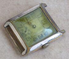 Caballeros Vintage Reloj para reparación, Geneva Watch Co, en oro, Estuche De 26.5 mm.