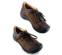 Keen XT 0606 Brown Nubuck Leather Oxford Sneaker Shoes Women's 6.5 US, 37 EUR