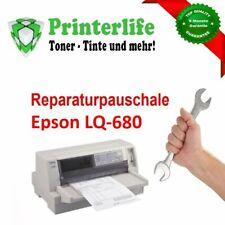 Servicepauschale Reparatur Wartung Nadeldrucker Epson LQ-680 mit Rechnung