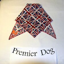 Union Jack Dog Bandana / Scarf - 3 sizes to choose from!