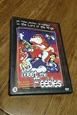 Meet The Feebles (1989) DVD - Peter Jackson PAL Release Region 2 New Zealand
