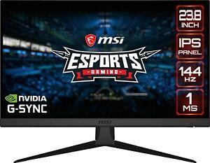 """MSI Optix G242 24"""" Full HD 1920 x 1080 1ms (MPRT) 144 Hz 2 x HDMI, DisplayPort A"""
