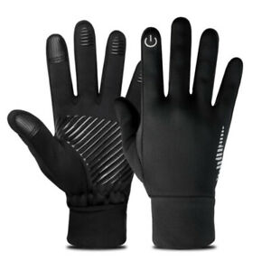 Winter Warm Gloves Touch Screen Anti-slip Gloves for Cycling Mountain Bike FW