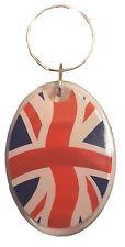Union Jack Key Ring Fob Souvenir Gift UK GB United Kingdom Flag Keyring Wavy