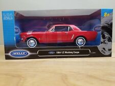 Welly 1964 Ford 1/2 Mustang Coupe 1:24 Red
