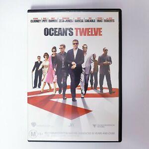 Oceans Twelve 12 DVD Movie Region 4 Free Postage - Action Crime