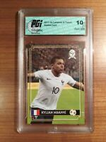 KYLIAN MBAPPE 2017 ROOKIE Campioni Futuro #1 Base RC PGI 10 Authenticated Card