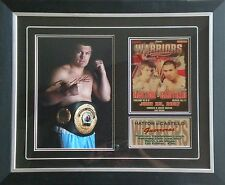 Ricky Hatton Signed Boxing Photo Display Mounted & Framed AFTAL RD#175