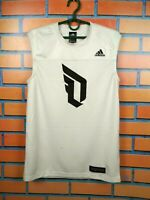 Adidas Basketball Dame Jersey S New White DN3066