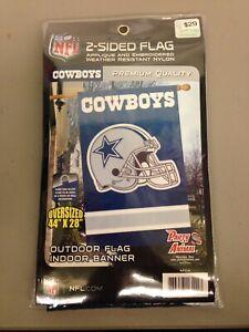 Dallas Cowboys Two Sided Flag - New!