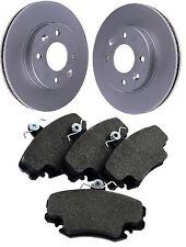 Front Brake Pads And Vented Discs Set Fits Renault Super 5 1.4 T 1.7 I 1985-1995