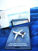 herpa lufthansa boeing 737-200 flensburg 1:500 nr 515931 in ovp sammlg selten!