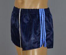 ADIDAS Glanz Nylon Shorts!!!  Vintage Short Sporthose Dunkelblau-Gr.:L-6  (1116)