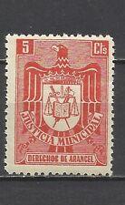 995-SELLO FISCAL ESPAÑA 1940 ETAPA FRANQUISTA JUSTICIA MUNICIPAL 5 CTS NUEVO **