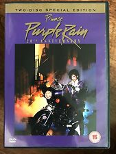 Prince PURPLE RAIN ~ Classic 1984 Musical / Autobiographical Drama 2-Disc UK DVD