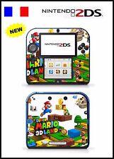 SUPER MARIO LAND 3D - vinyl Skin Aufkleber für Nintendo 2DS - réf 79