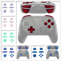 Replacement ABXY D-pad ZR ZL R L Buttons Set for Nintendo Switch Pro Controller