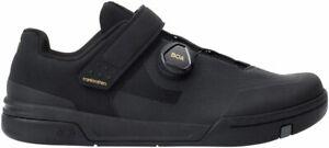 Crank Brothers Stamp BOA Men's Flat Shoe - Black/Gold/Black, Size 10