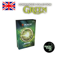 Commander Collection Green Premium - Box 8 carte FOIL eng Tutor Sol Ring Library