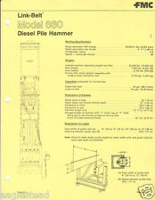 Equipment Brochure - Link-Belt - Fmc - 660 - Diesel Pile Hammer (E1715)
