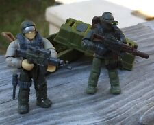 Custom Army Commando Soldier Lot # 46 Works With Most Lego & Mega Bloks Sets