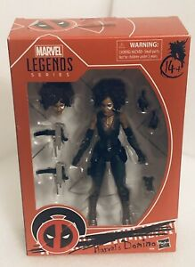 "Marvel Legends Deadpool Movie X-Men DOMINO 6"" Figure Brand New (light Wear)"