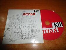 KILL KARMA CD ALBUM PORTADA DE CARTON DEL AÑO 2008 CONTIENE 8 TEMAS