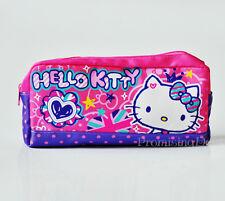 Cute Hello Kitty Pencil Bag Ball-point Pen Bag School Kids Stationery Purple