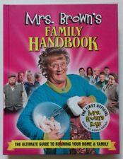 BRENDAN O'CARROLL - MRS BROWNS FAMILY HANDBOOK. SIGNED. 1/1. H/B. 2013.