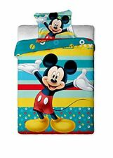 Funda Nordica Edredon Disney Mickey Mouse cama infantil 140x200 cm original