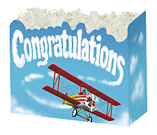 Large Congratulations Boxco Gift Basket Box