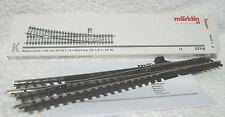 Märklin 22716 K rail Rechtse slanke wissel 14° 26' raillengte 225 mm boogstraal