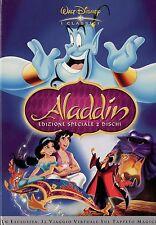 ALADDIN 2 DVD cartone animato WALT DISNEY versione1a uscita 2 DISCHI ed.SPECIALE