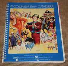 COLUMBIA 16 mm LARGE CATALOGUE  Liste films Cinéma 16mm division 1976 Anglais