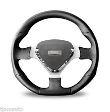 Autotecnica Targa Black and Grey Leather Steering Wheel  350mm wide NEW