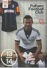 FULHAM v NORWICH 2013/14 FA CUP REPLAY MINT PROGRAMME